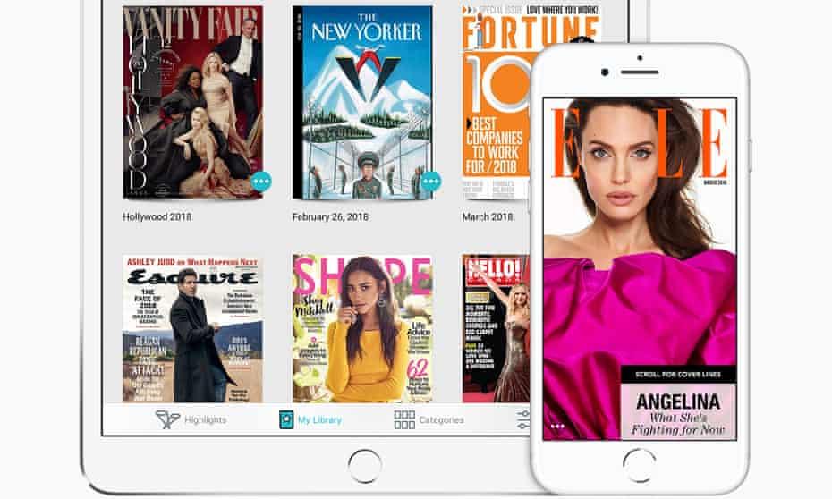 Texture magazine app