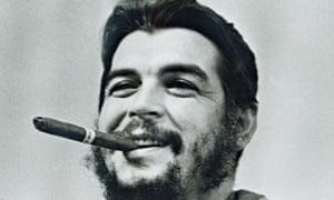 Che Guevara in Havana.