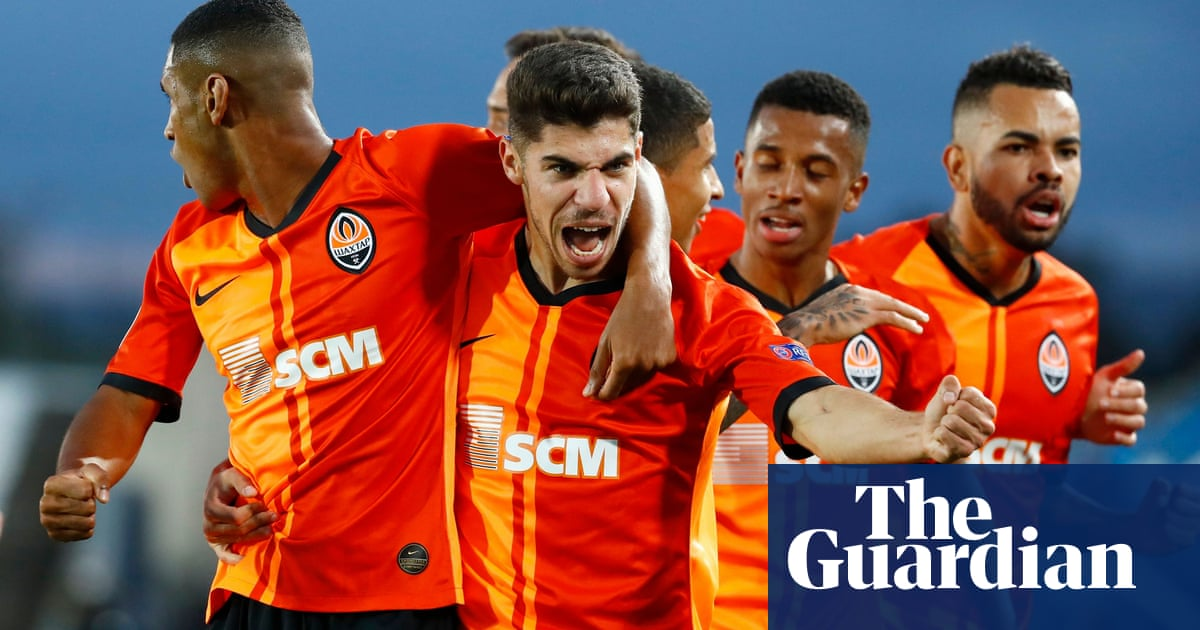 Real Madrid stunned in Champions League by Covid-hit Shakhtar Donetsk