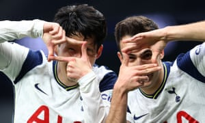 Son Heung-Min's goal chalked off by VAR.