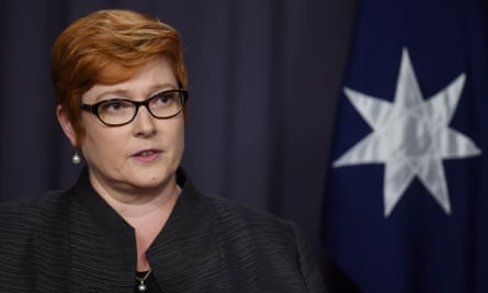 Marise Payne: a 'well-considered' decision consistent with others made across the world.