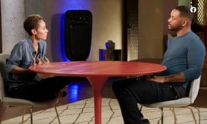 Will Smith and Jada Pinkett Smith on Red Table