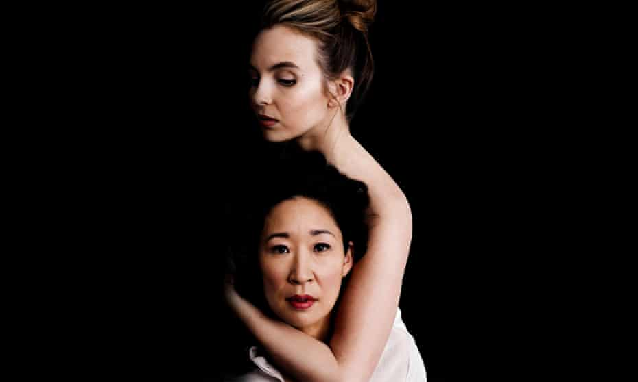 All about Eve -Jodie Comer and Sandra Oh.