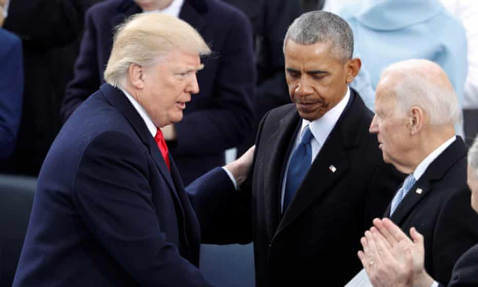 Donald Trump has suggested that Barack Obama and Joe Biden should be forced to testify before Congress. Senator Lindsey Graham said 'it would make great television'.