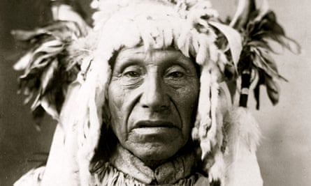 Native American Notchininga, also known as No Heart, a leader of the Iowa people.
