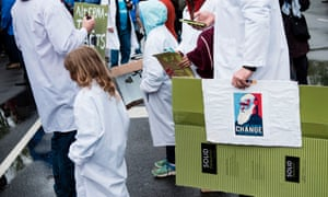Activists rally on Capitol Hill during the March for Science