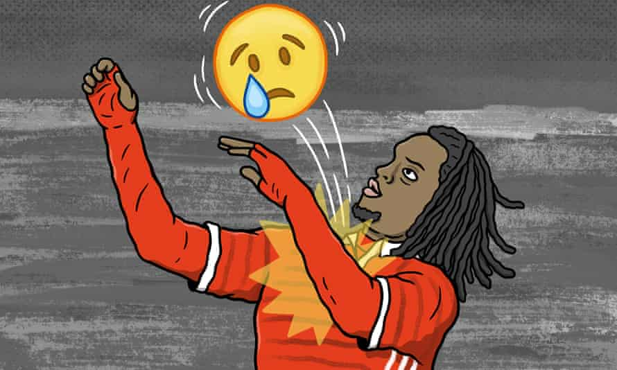 Renato Sanches: 'He wears sunglasses and huge headphones and speaks mainly in emojis, while being shuttled from elite subs bench to seven star hotel, generating endless income without any tangible interaction with the human world.'