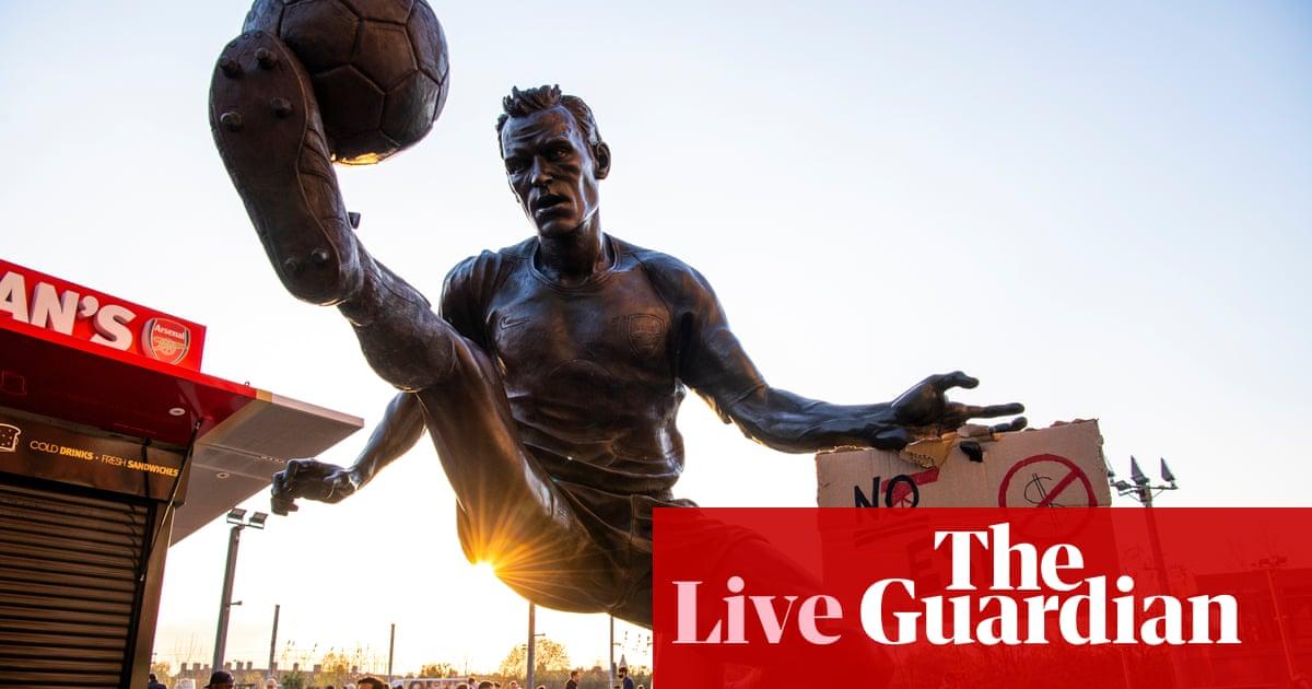 European Super League fallout, Premier League news and more – live!