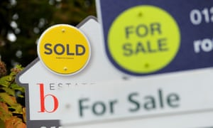 Sold and For Sale signs