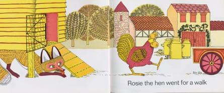 Rosie the hen went for a walk