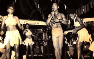 Fela Kuti, featured in WAKE UP YOU!