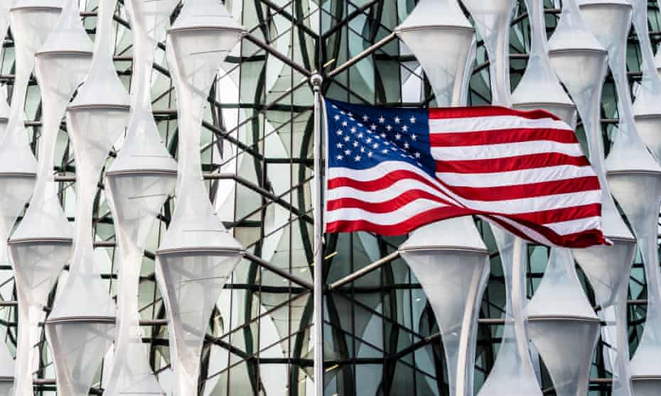 The US embassy in London