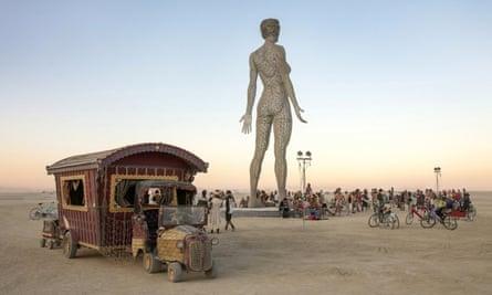 Marco Cochrane's R-Evolution at Burning Man 2015