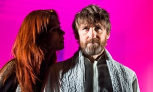 Audrey Fleurot and Paul Anderson in Tartuffe.