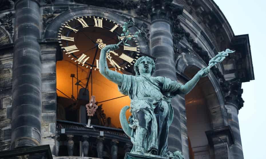 Clock in Amsterdam