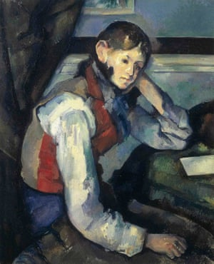 Art theft: Cezanne's The Boy in the Red Vest