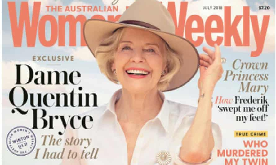 An Australian Women's Weekly cover