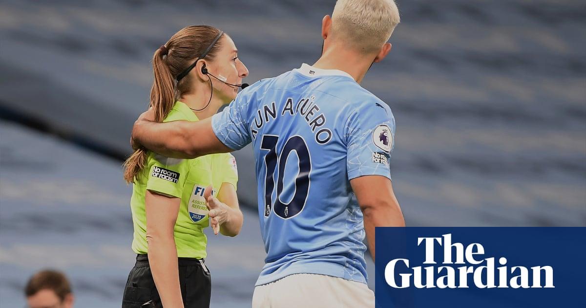 Pep Guardiola reiterates defence of Sergio Agüero in Massey-Ellis incident