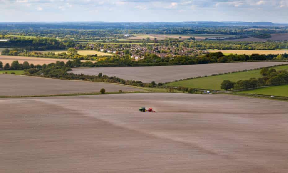 A farm in the Chilterns Buckinghamshire