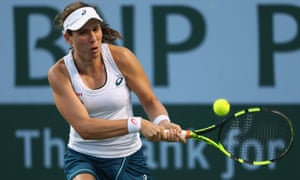Johanna Konta, the British No1, lost in three sets against Karolina Pliskova, of the Czech Republic.