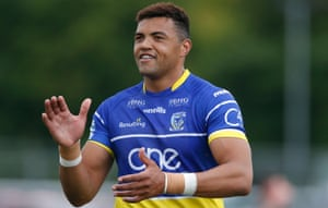 Luther Burrell made his debut for Warrington Wolves at the weekend against London Broncos.