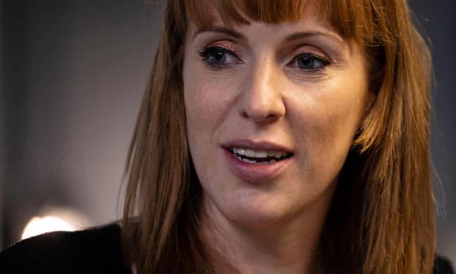 Labour's deputy leader, Angela Rayner