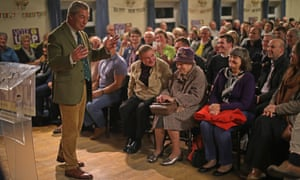 Nigel Farage addresses a public meeting at Sleaford Legionaires Club ahead of the Sleaford and North Hykeham byelection.