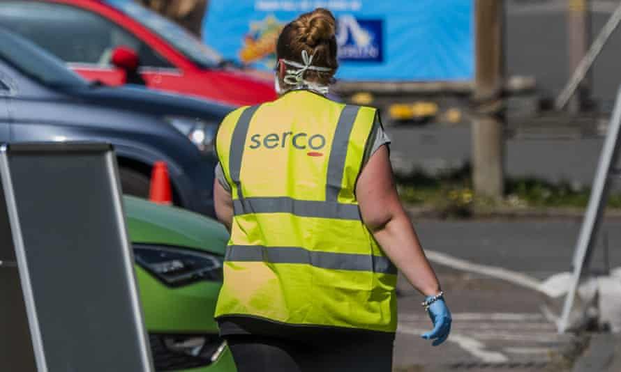 Serco worker