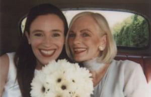 Nikki Gemmell and her mother Elayn