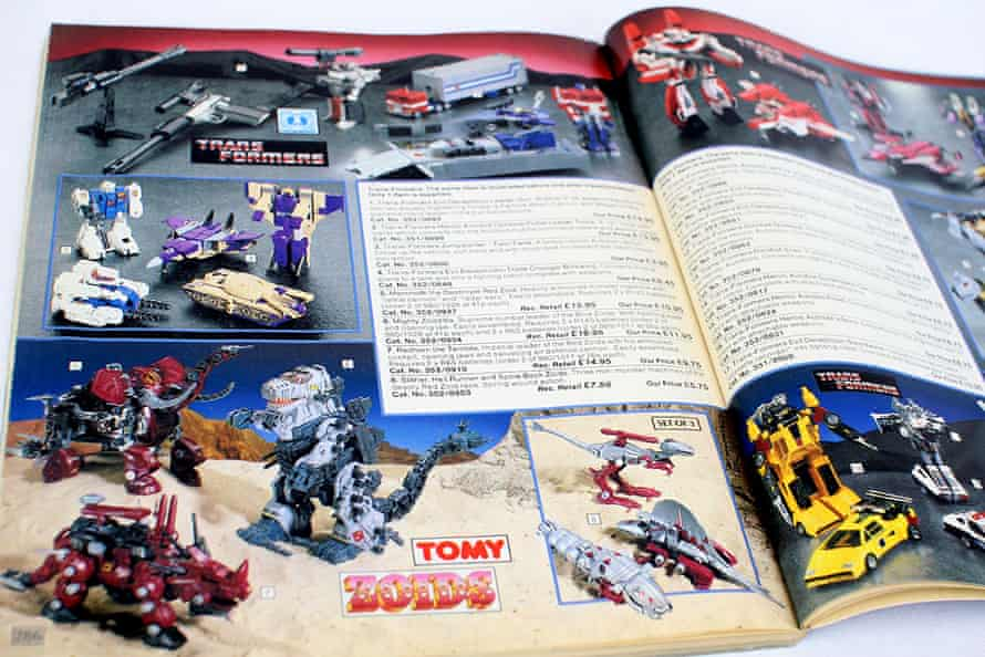 People remember as children circling the toys they wanted in the catalogue.