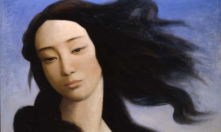 A detail from Venus after Botticelli by Xin Yin (2008 ). Photograph: Victoria and Albert Museum London