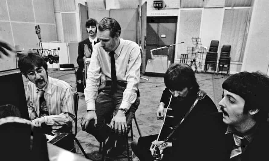 With the Beatles in January 1967