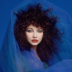 The singer Kate Bush, photographed in 1980, the year her third album, Never for Ever, was released.