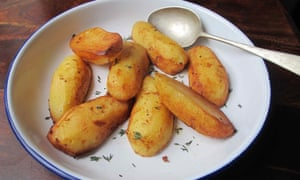 Butter the devil you know: Felicity's perfect fondant potatoes.
