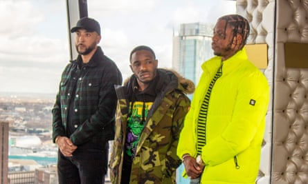 Credible names ... DJ Target and Krept and Konan are the show's judges.