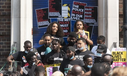 The poll found overwhelming support for Black Lives Matter protests.