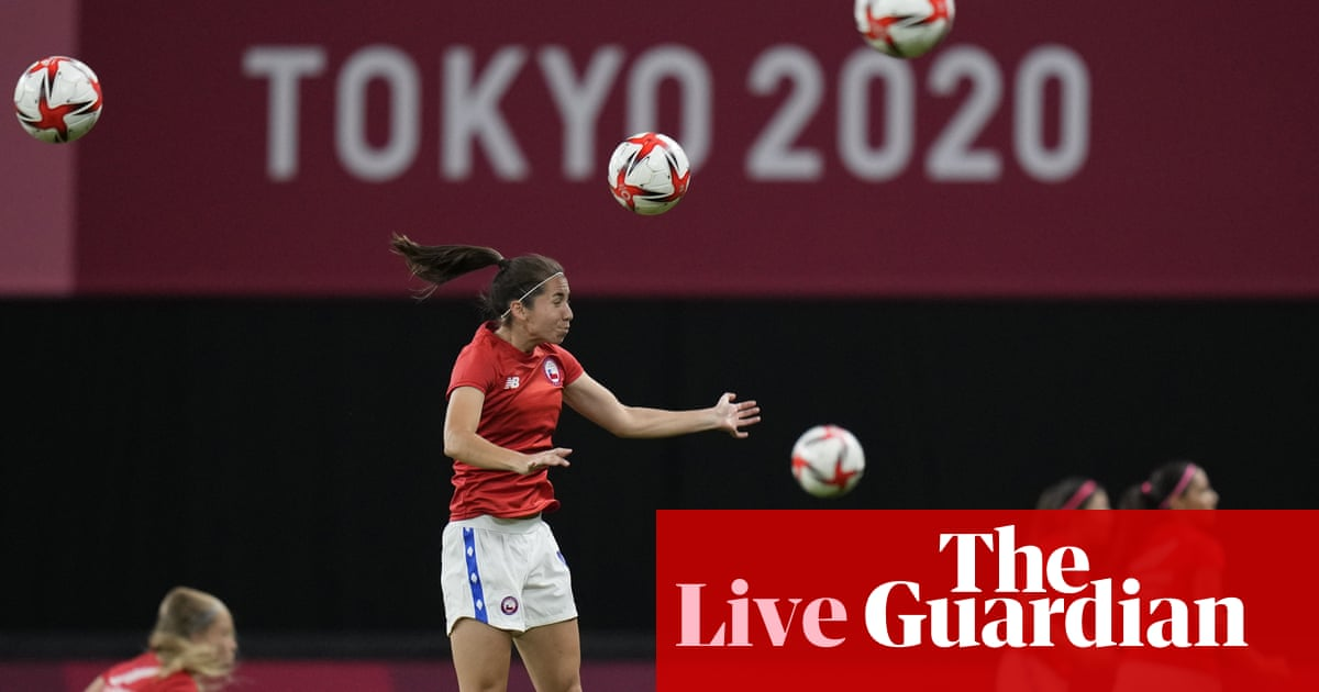 Great Britain v Chile: women's Olympic football – live!