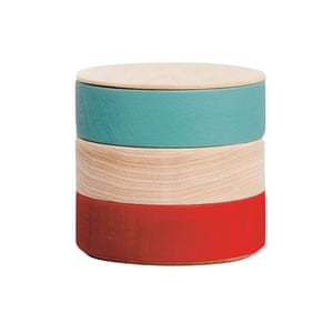 Transport your picnic nibbles in style Japanese stacking wood boxes, £90, nimiprojects.com
