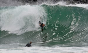 5512cebcd9 Wooden surfboards to mushroom handplanes: the surf companies tackling ocean  waste – gallery