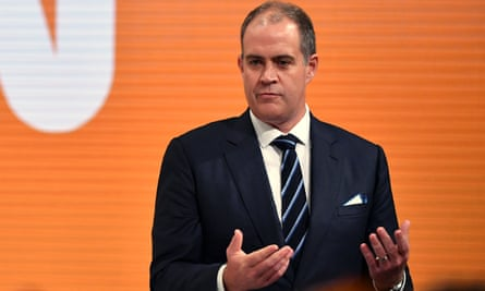 David Anderson has been appointed managing director of the ABC, replacing the sacked Michelle Guthrie
