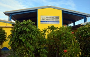 Home Island school.