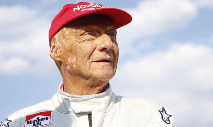 Niki Lauda attends June's legends race at Spielberg, before the Austrian Grand Prix.