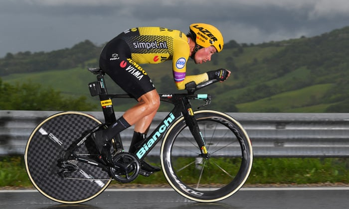 Primoz Roglic Strong Favourite For Giro After Crushing Time Trial Win Giro D Italia The Guardian