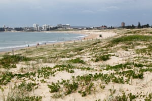 The surrounding beachfront is Sydney's longest ocean beach, measuring more than 5kms in length. This shot is taken facing south towards central Cronulla.