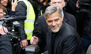 George Clooney cheered at Edinburgh cafe that helps homeless