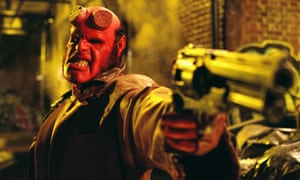 Ron Perlman in the first Hellboy.