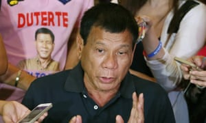 Rodrigo Duterte, the Philippines' next president, has sanctioned the murder of criminals, corrupt police and 'son of a bitch' journalists.