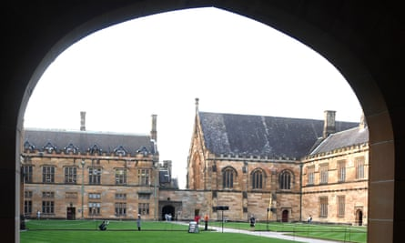 The Quadrangle of the University of Sydney
