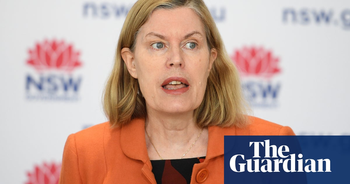 NSW chief health officer sidesteps question of whether she told government to lock down earlier