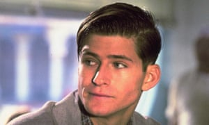 Glover as George McFly in Back to the Future.